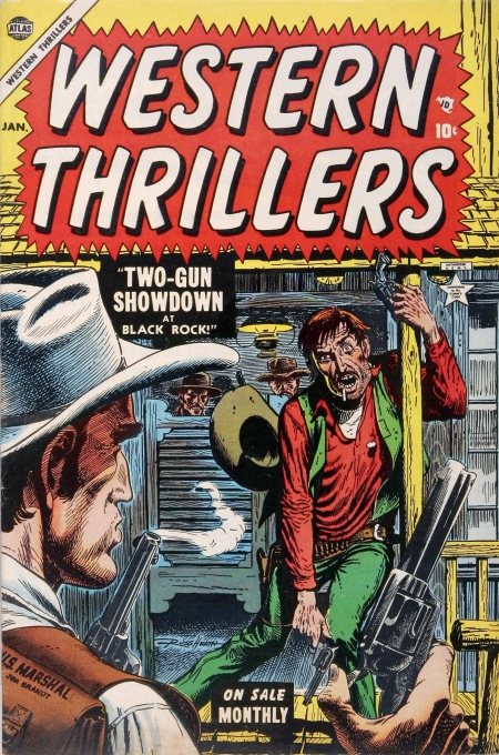 Western Thrillers 3 Cover Image