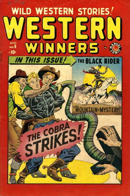 Western Winners 6 Cover Image