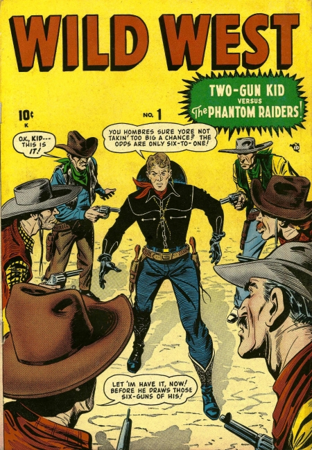 Wild West 1 Cover Image
