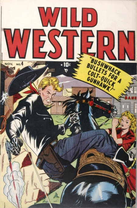 Wild Western 4 Cover Image
