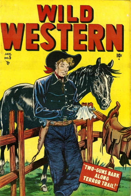 Wild Western 5 Cover Image