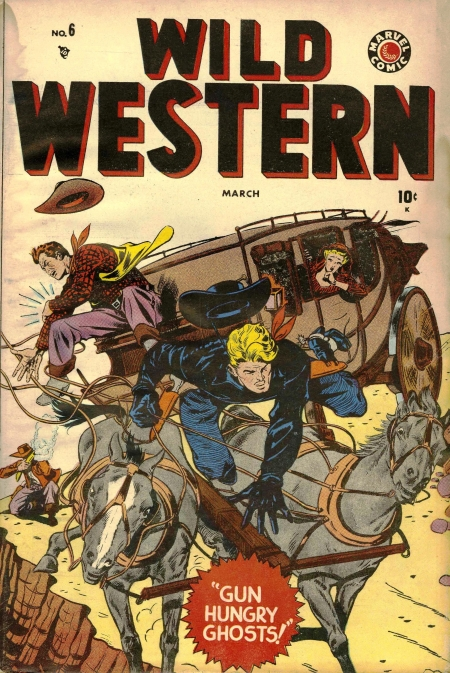 Wild Western 6 Cover Image