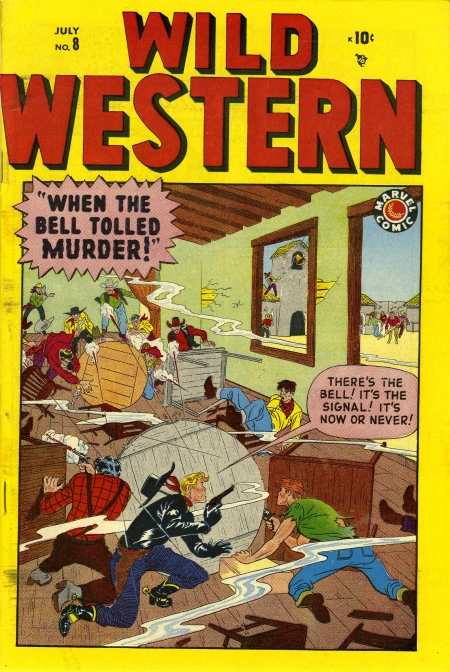 Wild Western 8 Cover Image