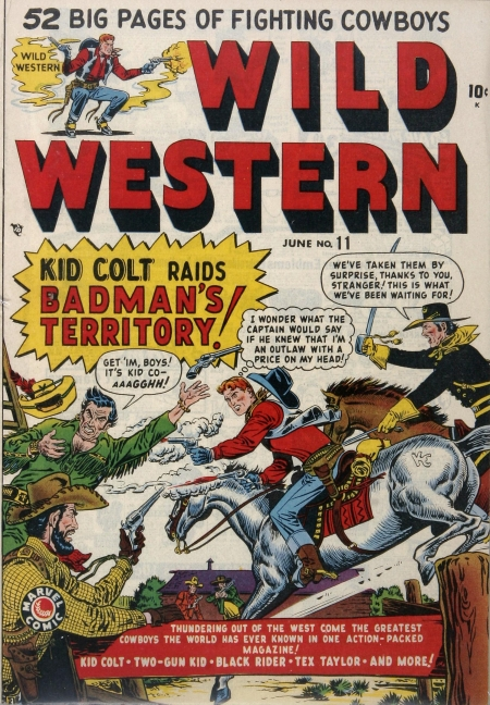 Wild Western 11 Cover Image