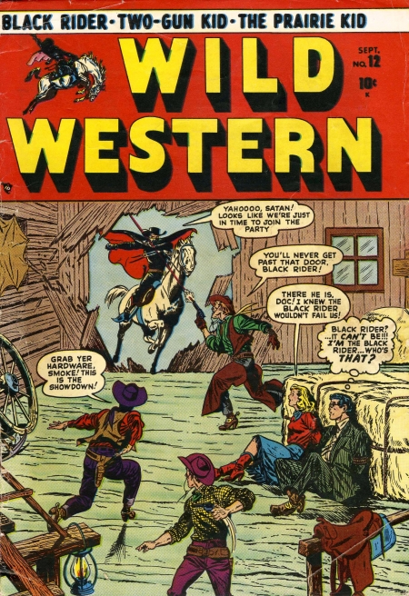Wild Western 12 Cover Image