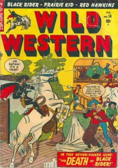 Wild Western 14 Cover Image
