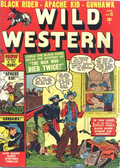 Wild Western 15 Cover Image