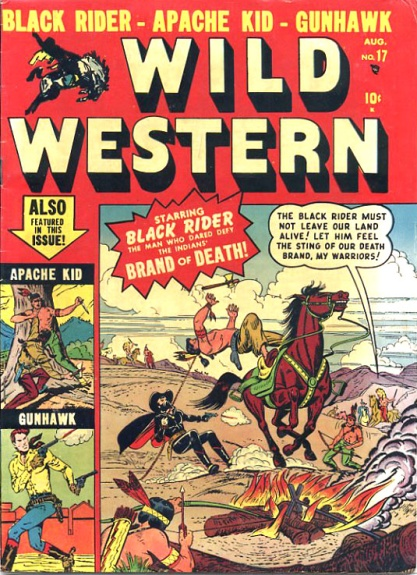 Wild Western 17 Cover Image