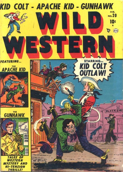 Wild Western 20 Cover Image