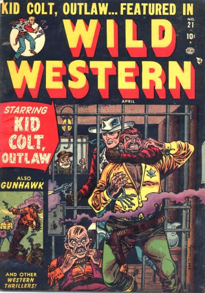 Wild Western 21 Cover Image
