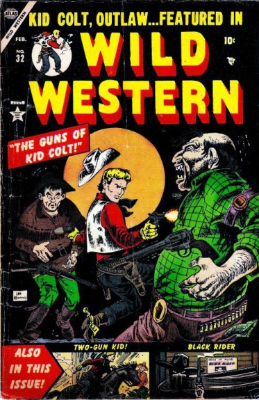 Wild Western 32 Cover Image