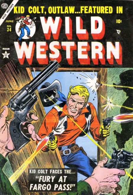 Wild Western 34 Cover Image