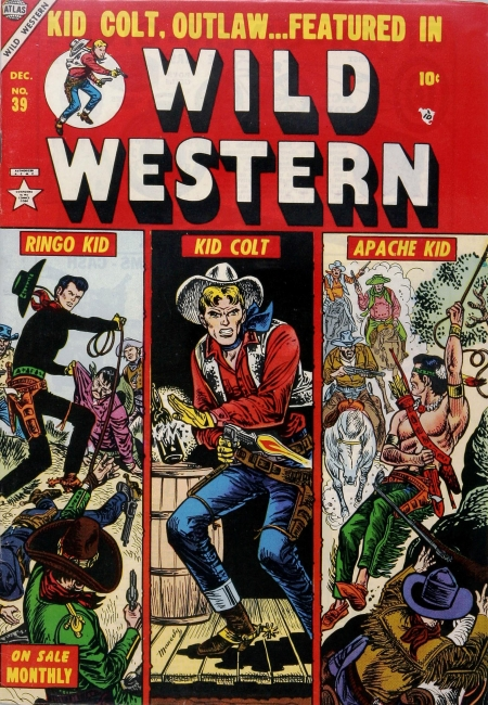 Wild Western 39 Cover Image