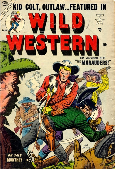 Wild Western 40 Cover Image