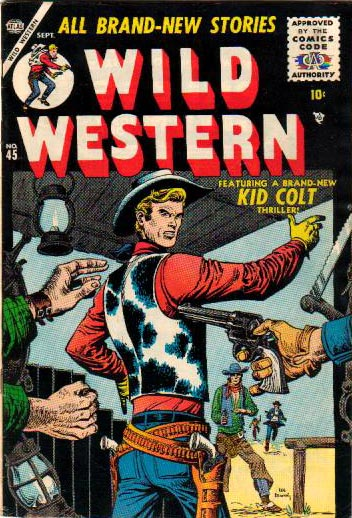 Wild Western 45 Cover Image