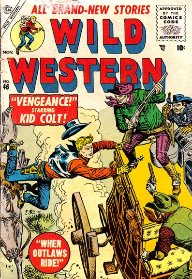 Wild Western 46 Cover Image