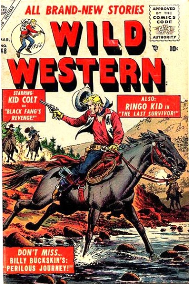 Wild Western 48 Cover Image