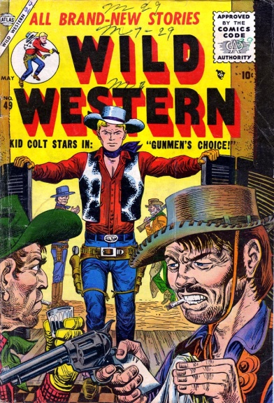 Wild Western 49 Cover Image