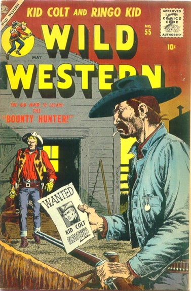 Wild Western 55 Cover Image
