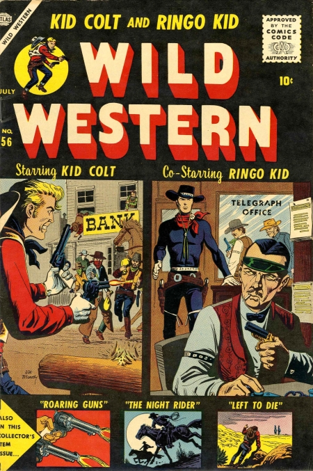 Wild Western 56 Cover Image