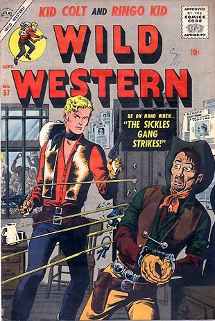 Wild Western 57 Cover Image