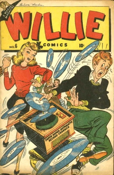 Willie Comics 6 Cover Image