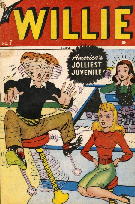 Willie Comics 7 Cover Image