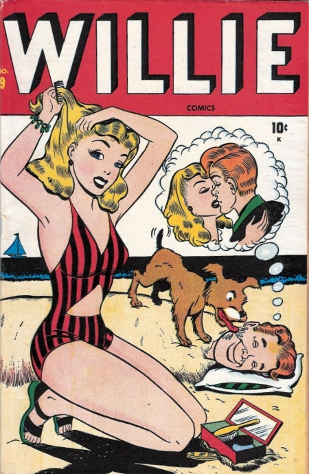 Willie Comics 9 Cover Image