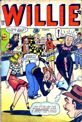Willie Comics 11 Cover Image