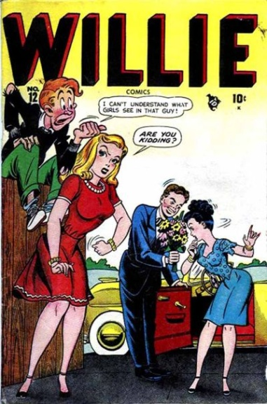 Willie Comics 12 Cover Image