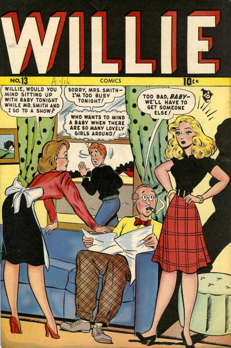 Willie Comics 13 Cover Image