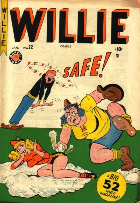 Willie Comics  22 Cover Image