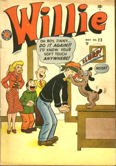 Willie Comics  23 Cover Image