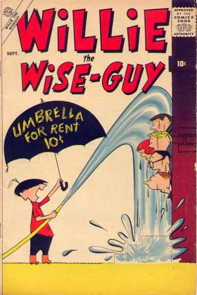 Willie the Wise-Guy 1 Cover Image