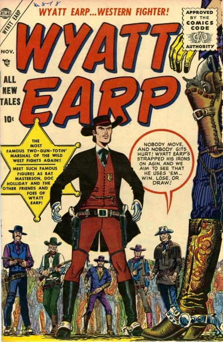 Wyatt Earp 1 Cover Image