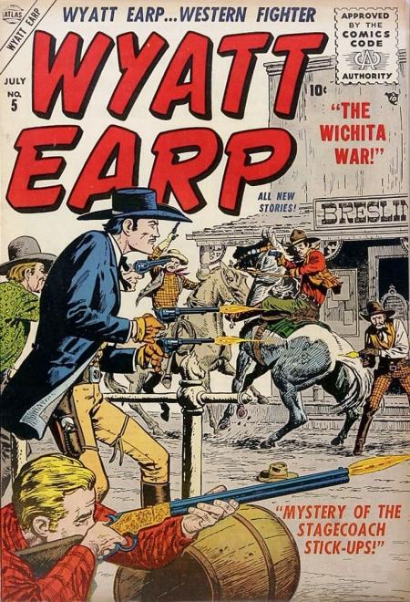 Wyatt Earp 5 Cover Image