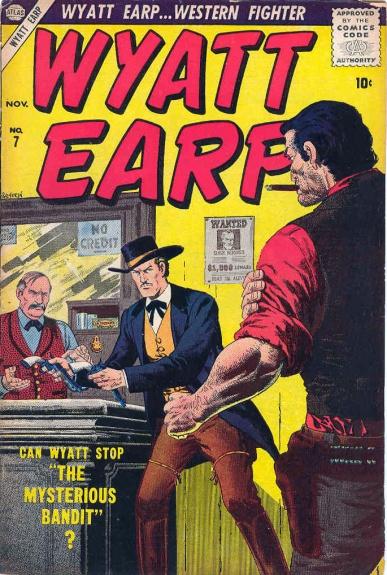 Wyatt Earp 7 Cover Image