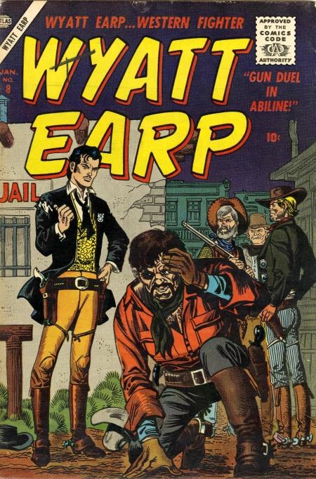 Wyatt Earp 8 Cover Image