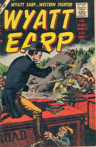 Wyatt Earp 11 Cover Image