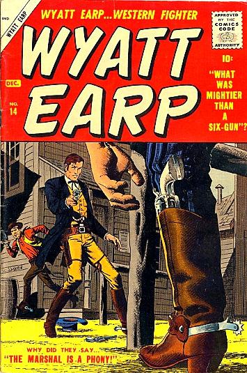 Wyatt Earp 14 Cover Image