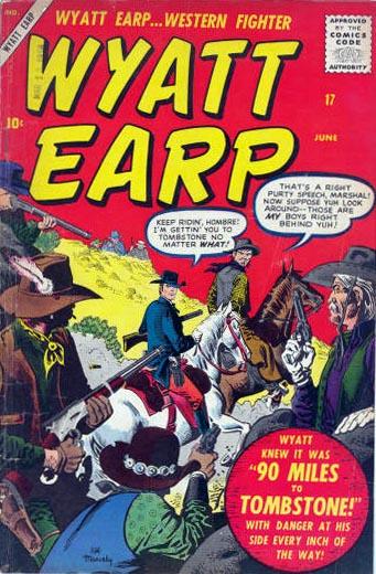 Wyatt Earp 17 Cover Image
