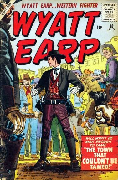 Wyatt Earp 18 Cover Image
