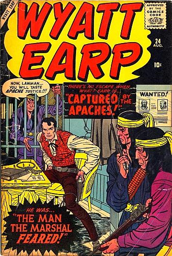 Wyatt Earp 24 Cover Image