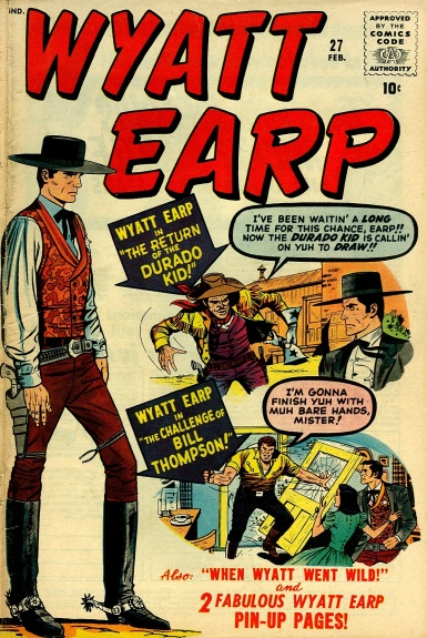 Wyatt Earp 27 Cover Image