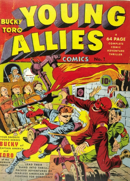 Young Allies Comics 1 Cover Image