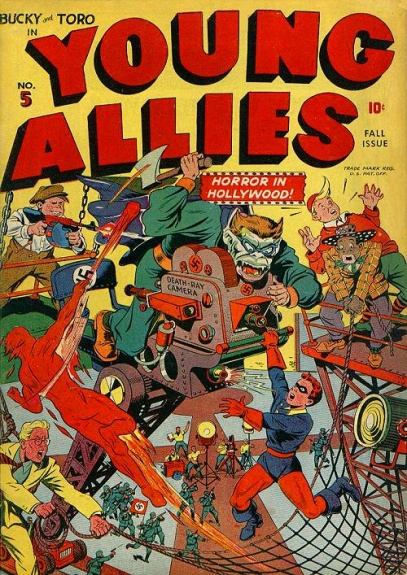 Young Allies Comics 5 Cover Image