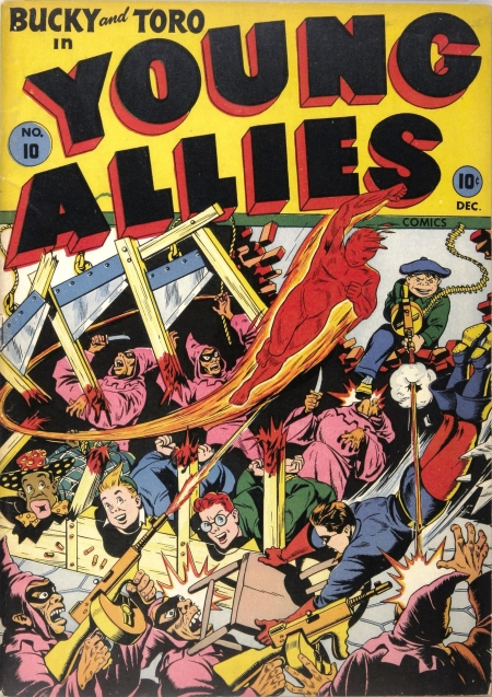 Young Allies Comics 10 Cover Image
