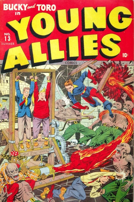 Young Allies Comics 13 Cover Image
