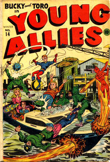 Young Allies Comics 14 Cover Image