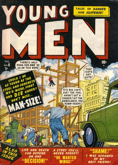 Young Men 6 Cover Image